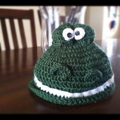 Instant digital download. Crochet PATTERN Dinosaur Hat by AcornTreeCreations. www.AcornTreeCreations.com