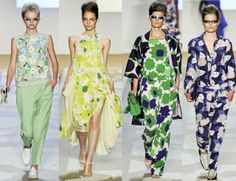 Some incredibly retro prints from Diane von Furstenberg
