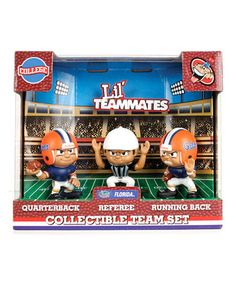 Take a look at this Florida Lil' Teammates Figurine Set by Party Animal on #zulily today!