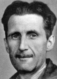 """""""In a time of deceit telling the truth is a revolutionary act."""" ― George Orwell"""
