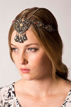 agates, headpieces