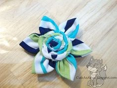 Hand Sewn Fabric Flowers
