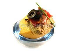 Canapés de anchoas y aceitunas negras - Diabetes