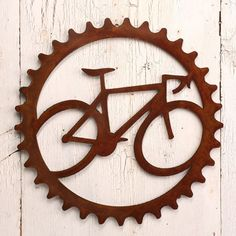 Speed Demon Road Bike Bicycle Art Steel Wall Art