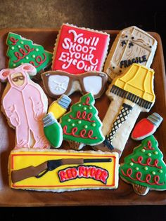 a christmas story cookies!