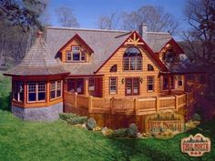 Custom Log Home Plans, Custom Log Home Models | Citadel Collection | True North Log Homes