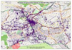 where do tweets in Nairobi come from?