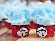 These Dr. Seuss–inspired desserts make for a great rainy day activity—and birthday-party finale.