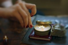 DIY: travel candle