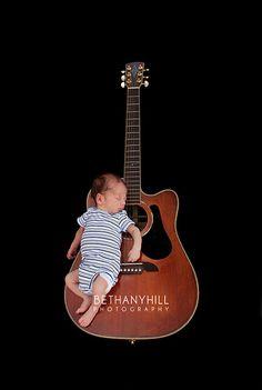Guitar & baby
