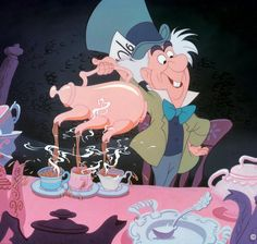 Pour yourself a cup of tea and enjoy a piece of  unbirthday cake! Today is Mad Hatter Day!