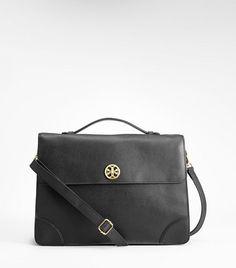 Robinson Briefcase | Womens Top Handles & Shoulder Bags | ToryBurch.com