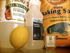 Home-made Green Cleaning Recipes For A Healthy Home