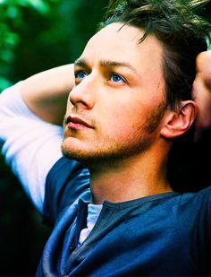 James McAvoy. Charles Xavier. This man is ummmmm, Ummmm mm, I forgot what I was saying, I was staring into this blue eyes ;)