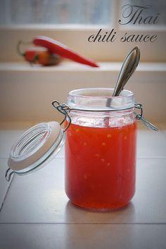 Homemade Sweet Thai Chili Sauce