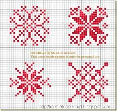 Free Christmas Ornament Pattern: Scandinavian