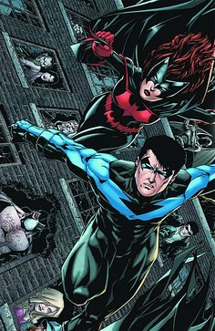 Nightwing and Batwoman