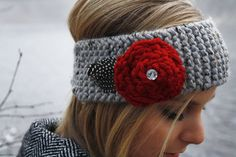 Knit headband <3 love this #needthis