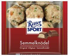 RITTER SPORT Fake Schokolade Semmelknödel