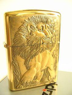 Lion Zippo lighter
