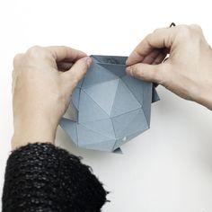 ciotola geometrica - Diy geoball