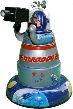 Space Explorer Toy Robot