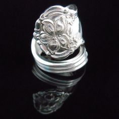 Antique Silverware Jewelry Spoon Ring - Orange Blossom....gotta get this one, too!