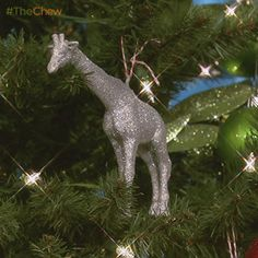 Day 2: Glittery Animal #Ornament! #TheChew #Christmas #Craft #DIY