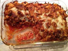 Chicken Parmesan Bake main-dishes-non-crockpot