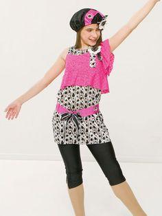 Best of Both Worlds - Style 0105 | Revolution Dancewear Jazz/Tap Dance Recital Costume