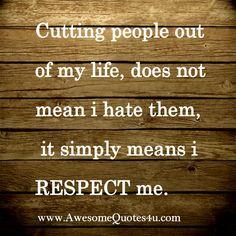 self respect quote