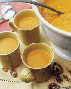 Martha Stewart Harvest Pumpkin Soup Recipe