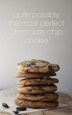 ~hands down, the best chocolate chip cookies~