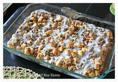 Cinnamon Roll Breakfast Bake!!! yummy breakfast idea