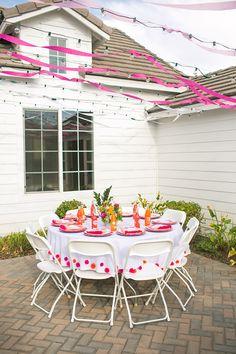 Flowery Birthday Party