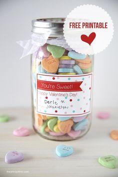'You're sweet' FREE printbale Valentine tag