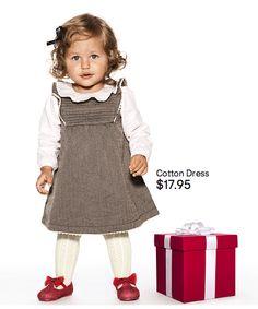 Adorable kids' cotton dress