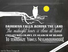 Thriller Halloween Printables - download at anightowlblog.com | #halloween #printables