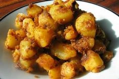 Indian-Style Potatoes - Khatta Aloo