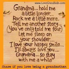 Being a GRANDPARENT is the best ever!