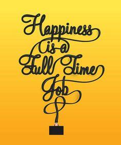 full time job...