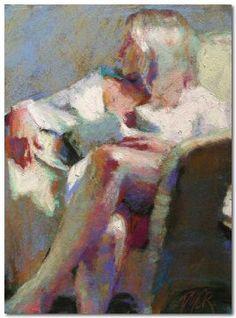 Margaret Dyer. Great pastel work