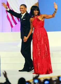 The First Lady of Style: Michelle Obama WOWS in (Jason) Wu Again for Inaugural Gown, and then some  http://www.focusonstyle.com/fashion/michelle-obama-wows-red-jason-wu-inaugural-gown/ #michelleobama #jasonwu