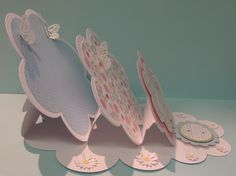 easel cards, tripl easel, easter, fanci fold, tutorialspap craft, interact card