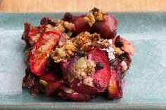Coconut Berry Quinoa Crisp Recipe #quinoa #healthy #recipe #food