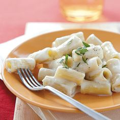 Creamy Rigatoni with Gruyère and Brie | CookingLight.com