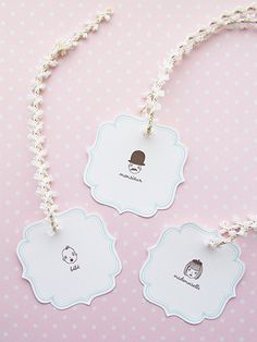 Freebies! Set of 4 Gift Tags » Eat Drink Chic
