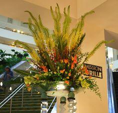AIFD Symposium 2011 - Lobby Flowers by Bloomsters in San Jose, CA hotel lobbi, hotel flower, lobbi arrang