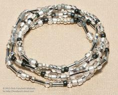 How to Make Beaded Stretch Bracelets
