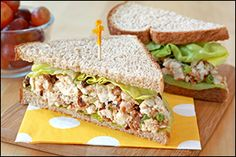 Healthy Chicken BLT Sandwich